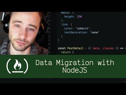 Data Migration with NodeJS (P5D9) - Live Coding with Jesse