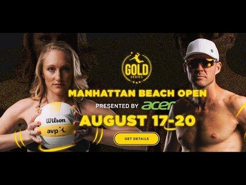 2017 AVP Manhattan Beach Women's Open Flint & Larsen vs  Claes & Hughes