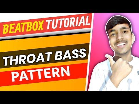 How to Beatbox-|Throat Bass Pattern Beatbox tutorial| Deep Beatboxer