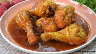 Куриные ножки в соево медовом соусе в мультиварке