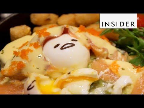 Restaurant Makes Lazy Egg-Themed Food After Gudetama