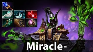 Miracle- 8k MMR Rubick Gameplay