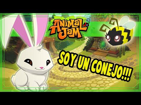 Animal Jam - Soy un conejo!!