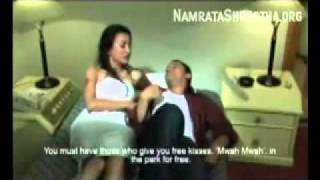 Namrata Shrestha Sex, HIV Aids Awareness Video