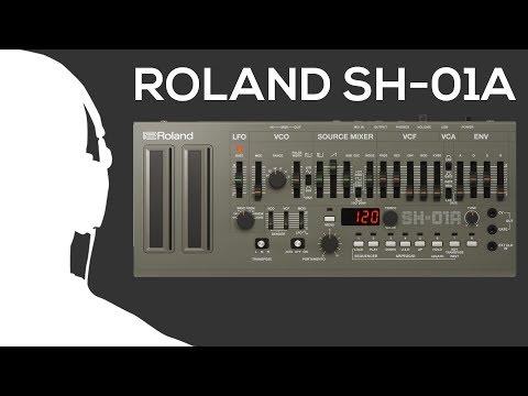 Roland SH-01A exclusive demo @ Musitechnic