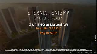 Project video of Oberoi Enigma
