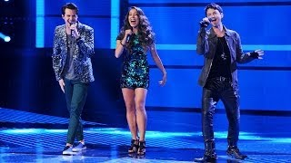 "Alex & Sierra and Jeff Gutt ""Love Me Again"" - Live Week 8: Final - The X Factor USA 2013"