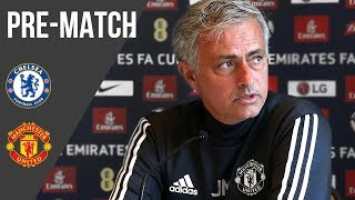 Jose Mourinho: Lukaku Might be Fit, We Have to Wait | Press Conference | Chelsea v Manchester United