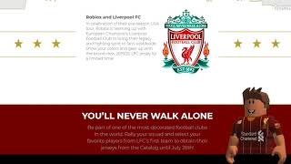 Liverpool FC Roblox Event