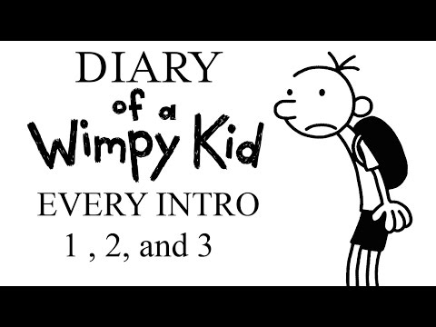 Diary Of A Wimpy Kid Intros 1 2 And 3 Youtube