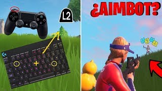 TIP *POSSIBLE* to Have AIM ASSIST or TIRO HELP on PC!! 😱💥 FORTNITE