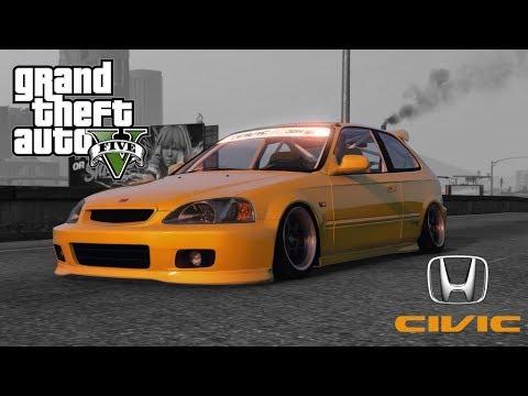 GTA V | Honda Civic Type R EK9