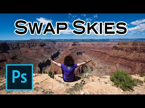 Adobe Lightroom Tutorial: How To SWAP SKIES In Your Landscape Photos