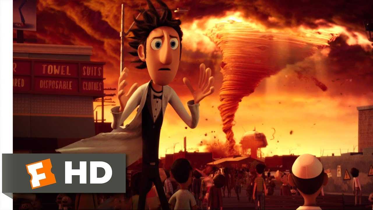 Download Cloudy with a Chance of Meatballs - Spaghetti Tornado Scene (4/10) | Movieclips