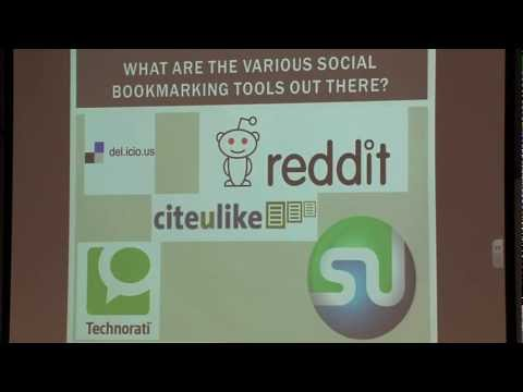 Teaching With Technology Showcase: Using Social Bookmarking.mov