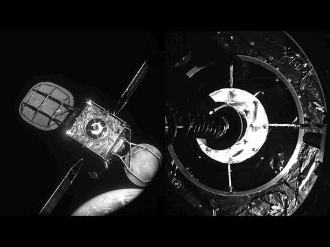 Por primera vez en la historia un satélite artificial se acopla a otro para prolongar su vida útil