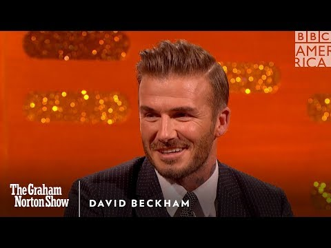 Thumbnail: David Beckham Puts Brooklyn Beckham In His Place - The Graham Norton Show