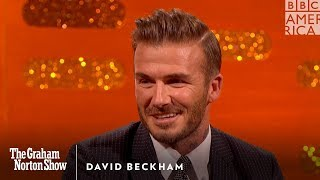 David Beckham Puts Brooklyn Beckham In His Place - The Graham Norton Show thumbnail