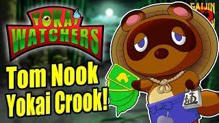 Tom Nook's Folklore Origins in Animal Crossing! - Yokai Watchers