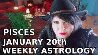 Pisces horoscope eclipse fullmoon week January 20th 2019