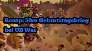 50er Geburtstagskrieg Unbesiegt War vs Maize Rage -  War Recap
