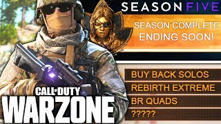 Call Of Duty WARZONE: The FINAL SEASON 5 UPDATE REVEALED!