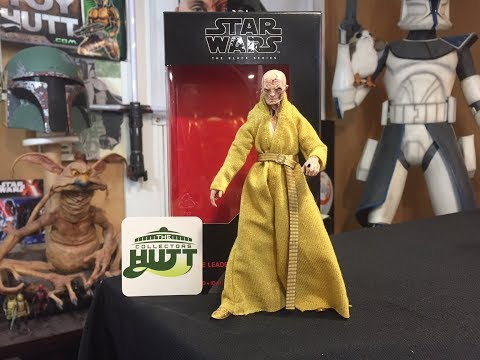 Star Wars The Black Series Supreme Leader Snoke 6 Inch Action Figure Review