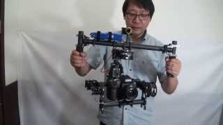 Repeat youtube video FlyCam BLGC 3-Axis 5D Mark II Sample
