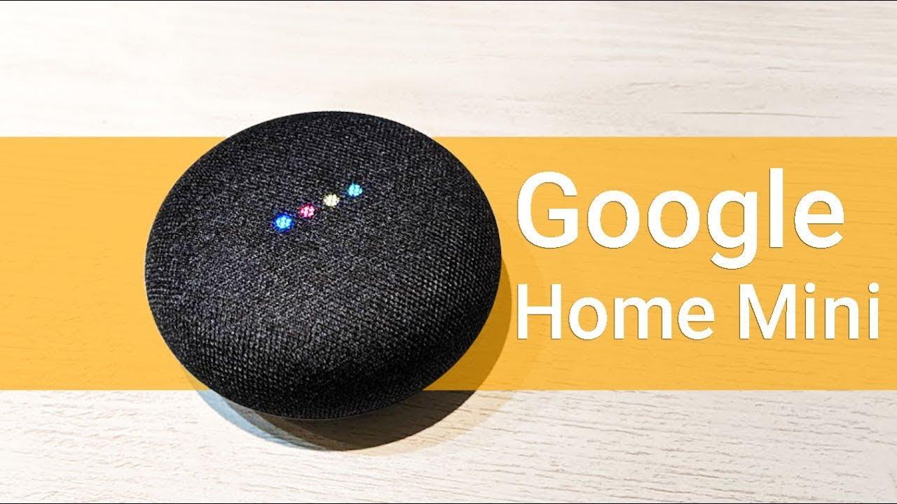 Google Home <b>Mini</b> | Распаковка и первые впечатления в 4K ...