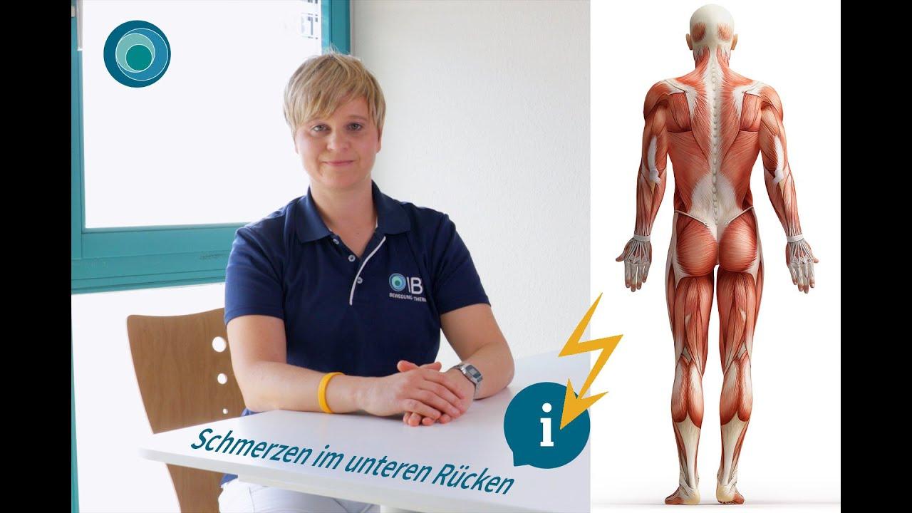 90 Sekunden Gesundheit | Schmerzen im unteren Rücken