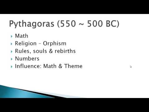 1. Introduction, Early Greek Philosophy Part 1
