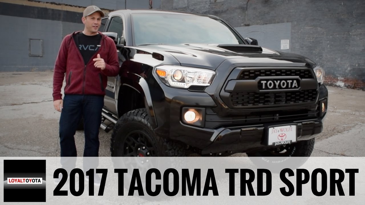 2017 toyota tacoma trd sport 4x4 custom loyaltoyota. Black Bedroom Furniture Sets. Home Design Ideas