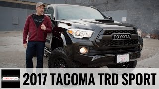 2017 Toyota Tacoma TRD Sport 4x4 Custom - LOYALTOYOTA