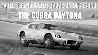 Legendary Cobra Daytona Designer, Peter Brock