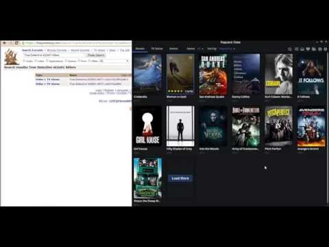 Copy/paste magnet link to stream in Popcorn Time