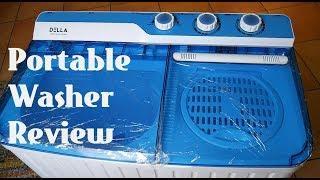 Della Portable Mini Washing Machine Complete Review (Amazon Link in description)