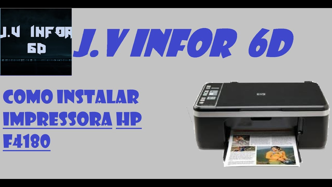 IMPRESSORA HP F4180 WINDOWS DRIVER