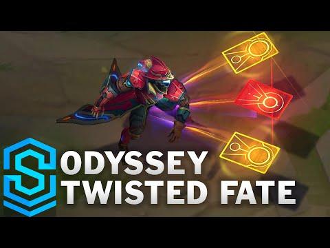 Odyssey Twisted Fate Skin Spotlight - League of Legends