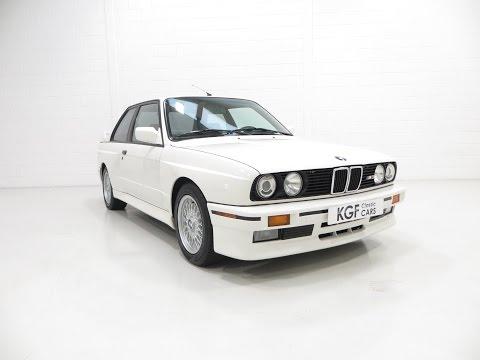 A Desirable Homologation BMW E30 M3 Motorsport in Original Condition - SOLD!