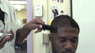 Clipper cut CLASS: skintight fade, line-up, chin stripe, clipper disinfection