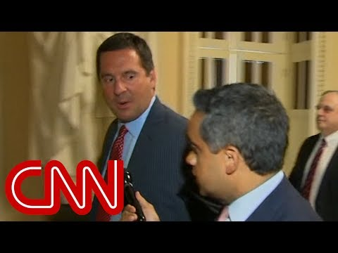Devin Nunes attacks CNN when asked about FISA docs