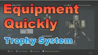 Equipment Quickly - Trophy System - Call of Duty Ghosts