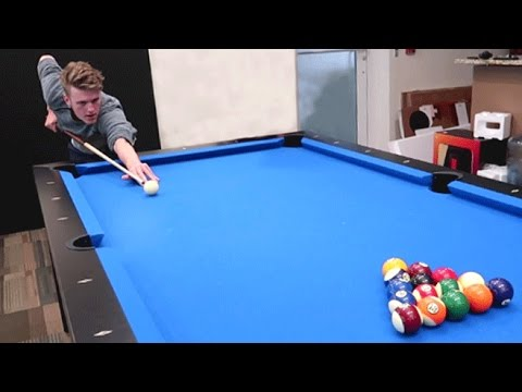 THE ULTIMATE POOL CHALLENGE!