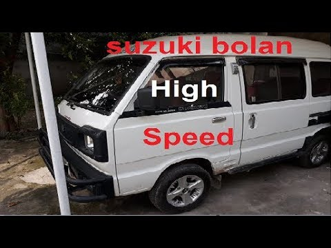 Suzuki Bolan euro 2 top speed|pick up|review|svstudio