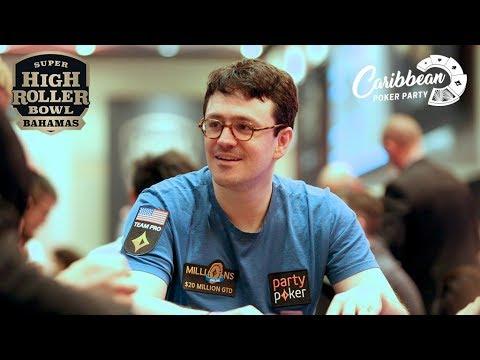 SHRB Bahamas Final Table FULL STREAM   Caribbean Poker Party 2019