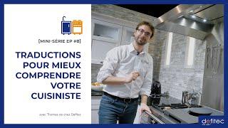 Lexique du cuisiniste belge - Conseils pour faire sa cuisine équipée EP#8