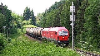 Тепловозы ER20CF-036 и ER20CF-031 / Diesel locomotives ER20CF-036 and ER20CF-031