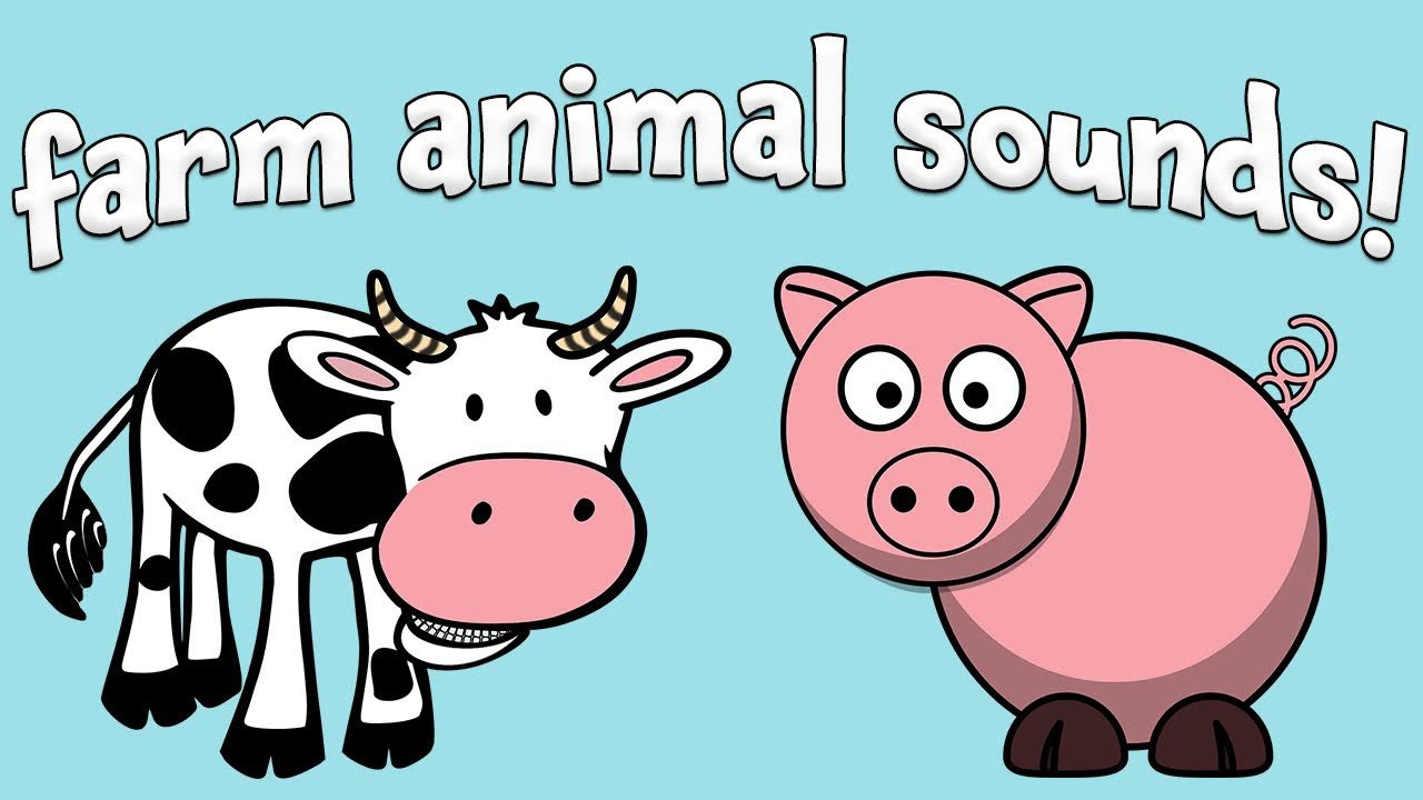 Farm Animal Sounds For Toddlers And Kids Youtube