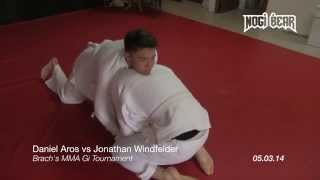 Daniel Aros vs Jonathan Windfelder • Brach MMA Gi Tournament 05.03.14 • Nogi Bear®