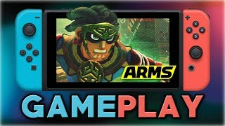 ARMS | Misango GAMEPLAY (Temple Grounds Stage) thumbnail